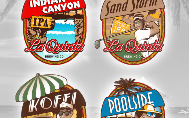 La Quinta Brewing Labels