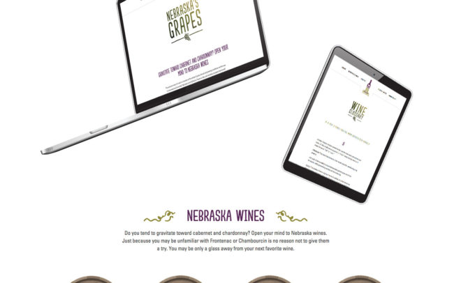 Nebraska Wine and Grape Growers Association Computer and Tablet