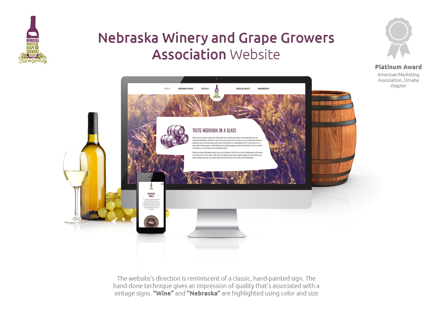 Nebraska Wine and Grape Growers Association Website