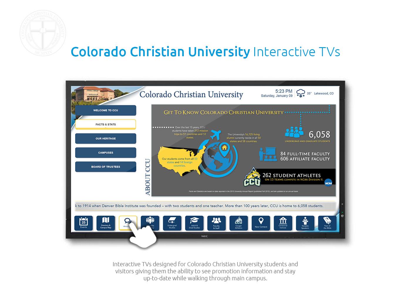 CCU Interactive TVs Intro