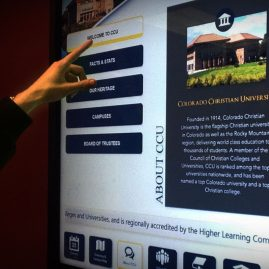 Colorado Christian University Interactive TVs