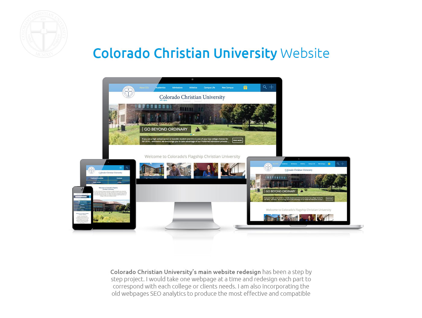Colorado Christian University Main Website